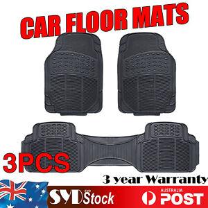 Flexible Rubber Car Floor Mat For Isuzu D-MAX MU-X Waterproof Stain Fade Resist