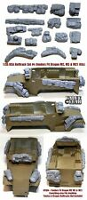 1/35 scale resin model USA Halftrack stowage Set #4 (For Dragon M2 M3 + M21