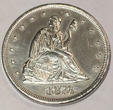 1876 TWENTY CENT PIECE*  CHOICE BU* MINTAGE ONLY 15,900 *