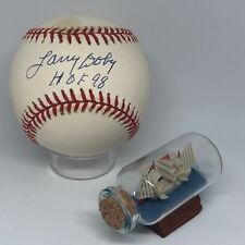 729ea91b344 Larry Doby signed Rawlings OAL Baseball JSA Inscribed HOF 98 Indians A1000