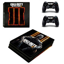 Call of duty black ops 3 skin Sticker for PS4 Pro Console and 2 Controllers