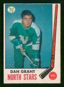 DANNY GRANT 1969-70 O-PEE-CHEE 69-70 NO 125 VGEX+ 45683