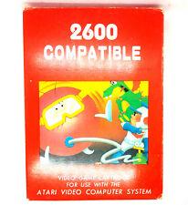 Atari 2600 Compatible Video Game Daimon Attack Barzack Pinball Dragon Treasure