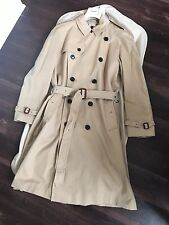 Burberry Men's Trench Coat Jacket Size 40 R (EU 50 R) Honey NWT