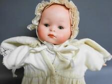 Vintage German Bisque Headed BABY Doll No l with original Squeaker