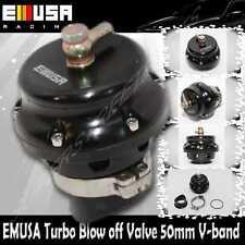 EMUSA 50MM Turbo Universal Blow off Valve V Band bov Mazda Toyota Scion Dodge