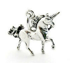 925 Sterling Silver 3D Unicorn Charm