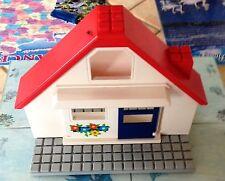 @ Playmobil : Maison Playmobil 123 - réf 6802 - Maison + plaque TBE