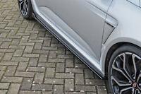 CUP3 Seitenschweller Schweller Sideskirts aus ABS für Renault Megane 4 RS