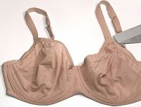 Huit New BEIGE PUSH UP AIR CUSHION LIGHT BRA STRIPED Sz: US 32C RTL $68 8241 I12