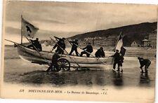CPA BOULOGNE - SUR - MER .- Le bateau de sauvetage  (196251)