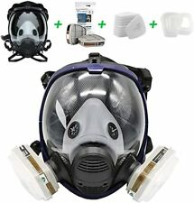15 In 1 Facepiece Full Face Gas Mask Filter Respirator Painting Similar For 6800