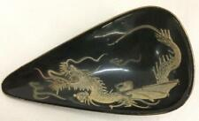 Oriental Tray With Dragon Decoration Lot 2581