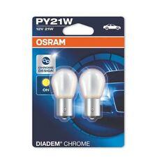 Osram Diadem chrom PY21W 21W 12v Blinker Leuchtmittel 2 Stück IM Duopack