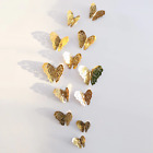 12pcs 3d Diy Wall Decal Stickers Butterfly Home Room Decor Decoration *au Stock*