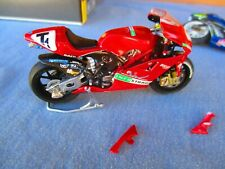 WELL BUILT INFOSTRADA DUCATI PERFORMANCE ANDVANCE  RACING BIKE HELLER 1/24 kit