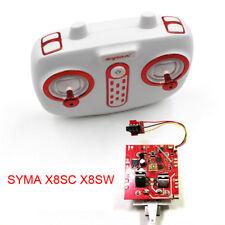 Remote Control + Receiver Board Spare Parts for SYMA RC Quadcopter X8SC X8SW