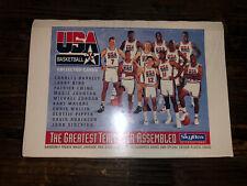SKYBOX 1992/93 USA DREAM TEAM BASKETBALL CARDS JORDAN BIRD JOHNSON BARKLEY