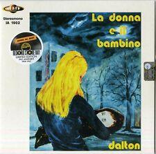 """DALTON """"LA DONNA E IL BAMBINO"""" 45' limited edition blue vinyl RSD sealed"""