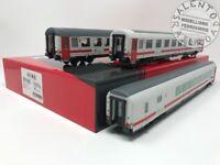 """ACME 55195 set 3 carrozze con ristorante """"Intercity day"""" FS Trenitalia - 1/87"""