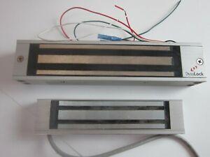 DYNALOCK 2585- Electromagnetic Lock,8-1/2in.Lx1-3/4in.W   PARTS  AS IS   T20