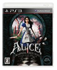 USED Alice: Madness Returns Japan Import PS3