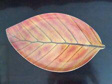 Banana Leaf Shape  Dinner Lunch Serving Melamine Platter Plate