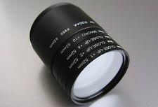 Makro Set 52mm passend zu Kodak P850  Nahlinsen + Filteradapter