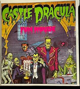 RARE COLORFORMS CASTLE DRACULA FUN HOUSE COMPLETE SET, VINTAGE 1970's, HALLOWEEN