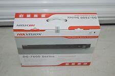 New Hikvision DS-7608NI-E2/8P-1TB 8 Channel NVR Poe 2Sata Hdmi 1Tb DS7600 Series