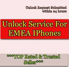 EXPRESS Factory Unlock Service For iPhone X XS XS Max For EMEA WORLDWIDE