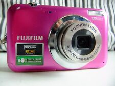 Fujifilm FinePix JV Series JV100 12.2MP Digital Camera - pink.