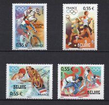 SERIE DE TIMBRES 4222-4225 NEUF XX LUXE - JEUX OLYMPIQUES D'ETE DE PEKIN 2008