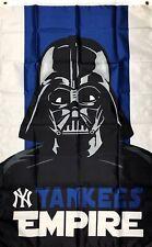 New York Yankees MLB Flag 3x5 ft Yankees Empire Banner Darth Vader Man-Cave New