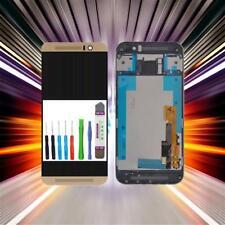 Komplett Display für HTC One M9 LCD + Touschscreen + Rahmen + Werkzeugset gold