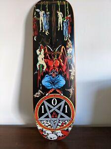 Natas Kaupas 101 Satan Skateboard Deck Cease And Desist
