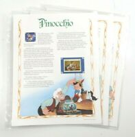 Disney Pinocchio Classic Movies Collector Stamp Story Panels
