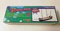 Pirate Ship Woodcrafted Kits Wooden Basic Boat Kit Sealed NIB w/ Instructions