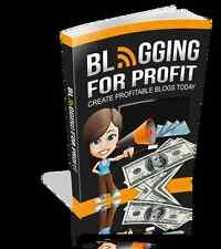 BLOGGING FOR PROFIT - Start A Blog That Works And Earn An Online Income (CD-ROM)
