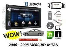 2006-2008 Mercury Milan Bluetooth touchscreen DVD CD USB CAR RADIO STEREO