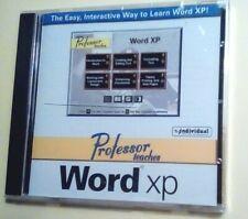 PROFESSOR TEACHES MICROSOFT WORD XP