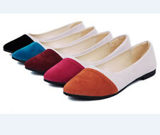 Womens Shoes Ballet Flats Plus Size 40 Casual Shoe Womens Loafers Low Heel Shoes
