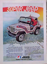 1973 Super Jeep ORIGINAL VINTAGE AD CMY STORE 4MORE GREAT ADS 5+= FREE SHIP