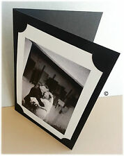 25 6 x 8 Coal Blank Photo Cards & white envelopes School Horse Sports Animal