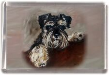 Miniature Schnauzer Fridge Magnet by Starprint - Auto combined postage