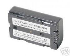 Battery for Panasonic CGR-D120 CGR-D120A CGRD120