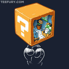 SUPER MARIO BROS 2 3 Wii Exclusive TeeFury T-Shirt NES Nintendo Tee RARE+NEW!!