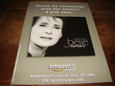 MARIE PAULE BELLE - PUBLICITE AMAZON.FR !!!!!!!!!!!!!
