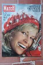 Paris Match 664 Mode ski 62 Vacances Noël ONU Kennedy Venezuela Janine Charrat