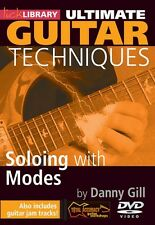 Soloing with Modes Ultimate Guitar Techniques Series Lick Library DVD  000393054